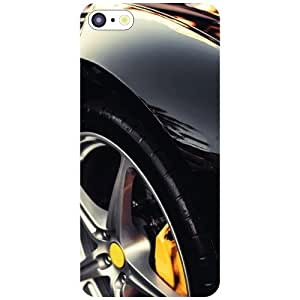 Apple iPhone 5C Back cover - Black Car Designer cases