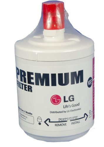 Premium Refrigerator Replacement Water Filter, fits LG  ADQ72910901 (Lg Refrigerator Side By Side compare prices)