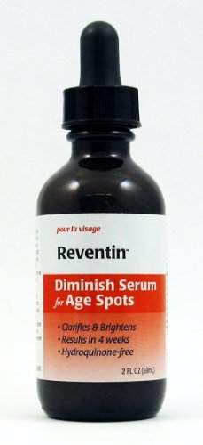 Reventin Diminish Serum For Age Spots, Sun Spots, Liver Spots And Blotchy Dry Skin. Fast Results. 2Oz.