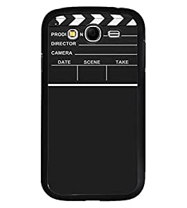Fuson Premium Lights Camera Action Metal Printed with Hard Plastic Back Case Cover for Samsung Galaxy Grand Neo i9060