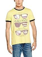 Galvanni Camiseta Manga Corta (Amarillo)