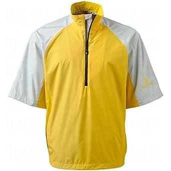 Mens Sixt Short-Sleeve Half-Zip Rain Shirts by Sunice