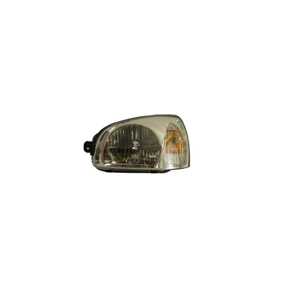 Genuine Hyundai Parts 92101 26251 Driver Side Headlight Assembly Composite