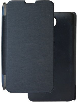 Kaira Premium Flip Cover for Micromax Canvas Juice A77/A177 - Black Color  available at amazon for Rs.179