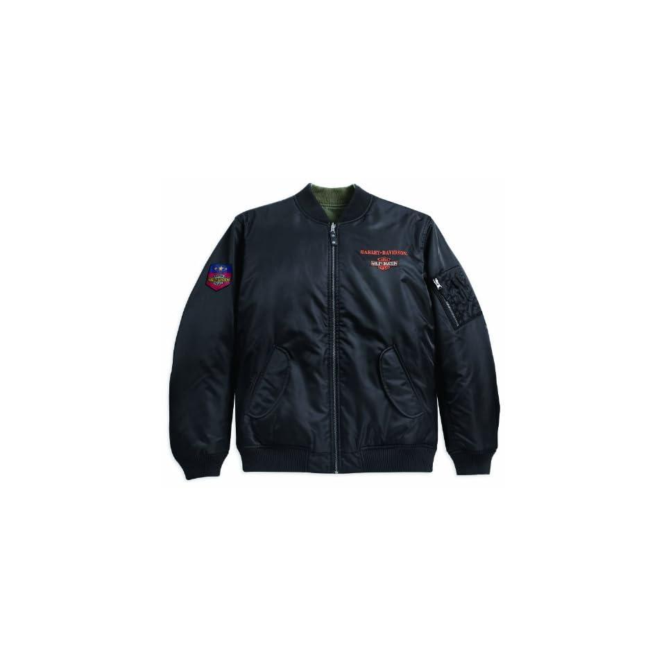 Harley Davidson Wendejacke Nylon Flight Jacket 97472 11VM Herren