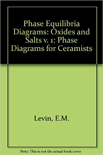 Phase Diagrams For Ceramists Vol. 1: Oxides and Salts (Volume 1)