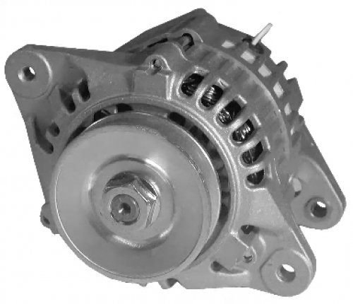 This Is A Brand New Alternator For John Deere Industrial Engines, Skid Steer Loaders, Samsung Excavatorse50-3 Yanmar 4Tne94, And Yanmar Marine Engines