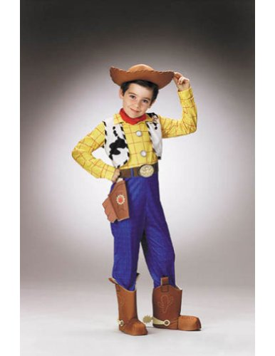 Kids-costume Woody Deluxe Child Sz 4 to 6 Halloween Costume - Child 4-6