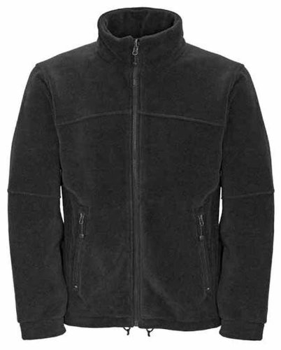 Mens Full Zip Classic Fleece Jackets Sizes XS to 4XL SUITABLE FOR WORK & LEISURE (XS - EXTRA SMALL, BOTTLE GREEN)