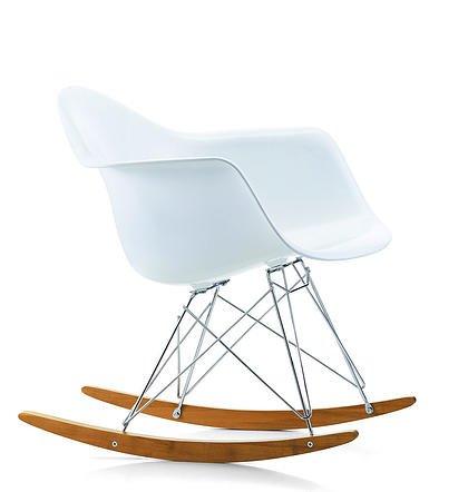 VITRA eames rar-Sedia armchair bianco