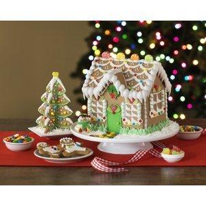 Amazon Com Orbit Gingerbread House Kit With Tree 1 Kit