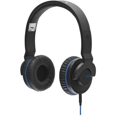 Nixon Sylus Headphones In Black/Marina Blue
