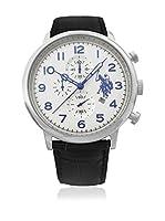 US Polo Association Reloj con movimiento cuarzo japonés Man Varenne USP4352WH 44 mm