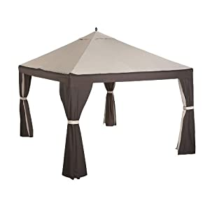Amazon.com : 8-Bar 10 x 12 Gazebo Replacement Canopy and