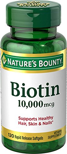 Nature's Bounty Biotin 10,000 mcg, 120 Softgels