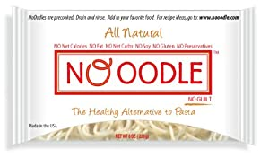 No Oodles Zero Carb, Zero Calorie Shirataki Noodles 10 Pack Angel Hair