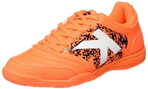 Kelme Uomo Subito 3.0 Scarpe da calcetto indoor Arancione Size: 43