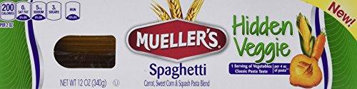 Mueller's Hidden Veggie Pasta, Spaghetti, 12 Ounce (Pack of 6) (Veggie Spaghetti compare prices)