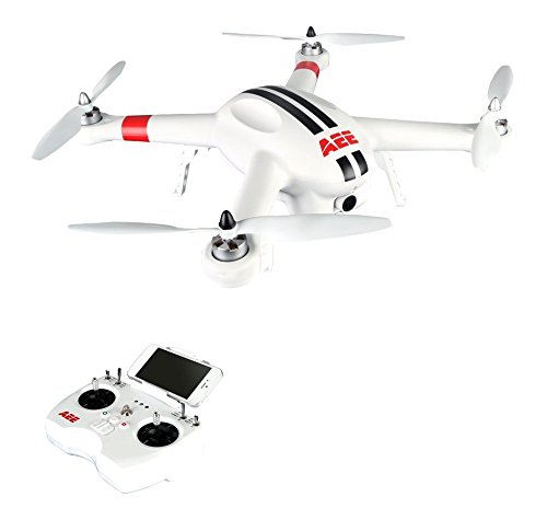 AEE AP10 Drone Quadcopter Aircraft System with Integrated 16MP FPV Camera (White) (White Live Range compare prices)