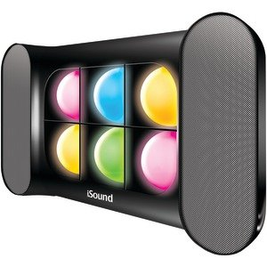 Dreamgear Isound-5245 Iglowsound Speaker System With Dancing Lights (black)