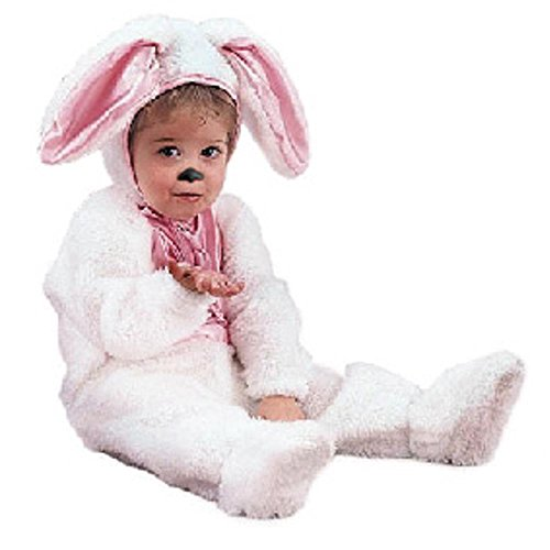 Plush Infant Baby Easter Bunny Rabbit Costume (6-18 Months)