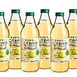 【果汁100%】 アルプスワイン ワイナリーこだわりのグレープジュース プレミアムホワイト 1000ml ×6本