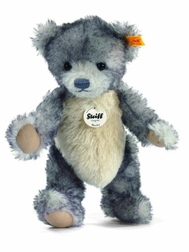 Steiff 28cm Rocky Teddy Bear (Grey Tipped)