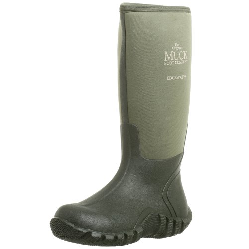 The Original MuckBoots Adult Edgewater Hi Boot,Moss,Men's 11 M/Women's 12 M