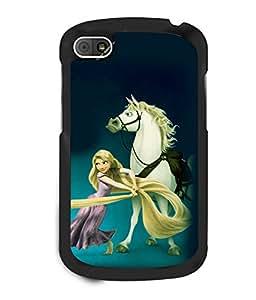 printtech Disney Girls Back Case Cover for BlackBerry Q10