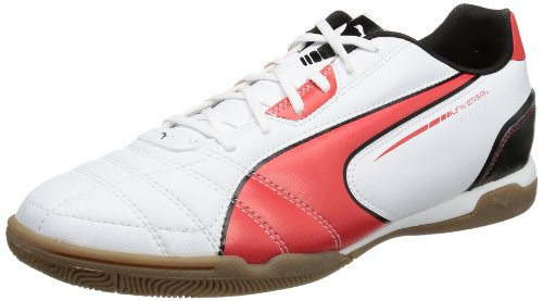 Puma Universal IT 102700 Herren Fußballschuhe, Weiß (white-high risk red-black 05), EU 42 (UK 8) (US 9)