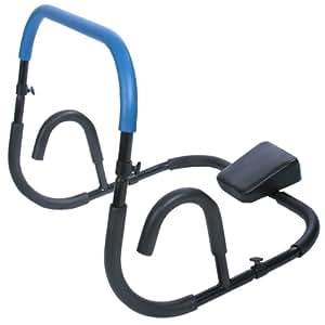 Appareil de musculation pour abdominaux - bleu - appui-tête rembourré - 68cm x 64cm x 64cm - DIVERSES COULEURS AU CHOIX