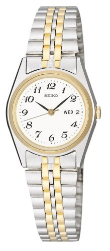 Seiko Women's Dres Two-Tone Watch #SWZ144