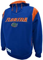 NCAA Mens Florida Gators Pick 6 Pullover Hood With Pockets by SECTION 101 Majestic