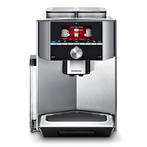 Siemens TI907501DE Kaffeevollautomat EQ.9 s700, 19 bar, Intelligentes Heizsystem, Dual Bean System, Barista Mode, edelstahl thumbnail