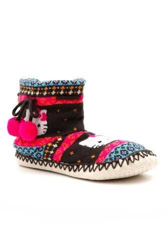 Buy Low Price Hello Kitty Moccasin Slippers (B00671DU9O)