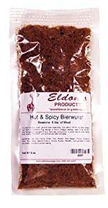 Eldon's Sausage and Jerky Supply Hot and Spicy Bierwurst Seasoning, 0.215 Pound by Eldon's Sausage and Jerky Supply