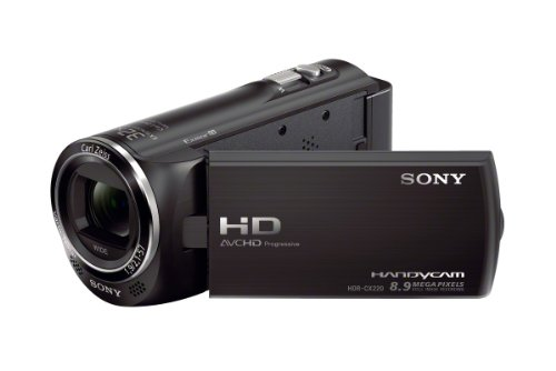 Sony CX220 Full HD Handycam - Black (27x Zoom)
