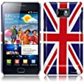 Samsung i9100 Galaxy S2 Union Jack Glossy Hard Case Cover Protector from The Keep Talking Shop Samsung i9100 Galaxy S II Accessories Collection.