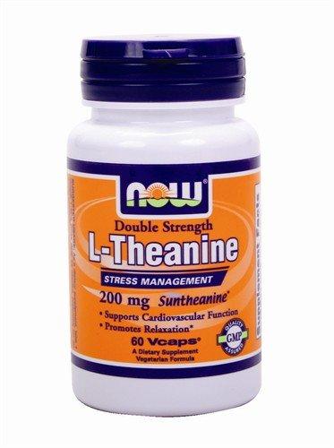 NOW Foods - L-théanine Suntheanine 200 mg. - 60