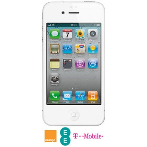 Iphone 4S 16GB White Locked on Orange Black Friday & Cyber Monday 2014