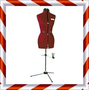 Super Fit 8 Part Female Dressmaking Tailors Bust & Hem Leveller FULL FIGURE Size 22+       Customer reviews