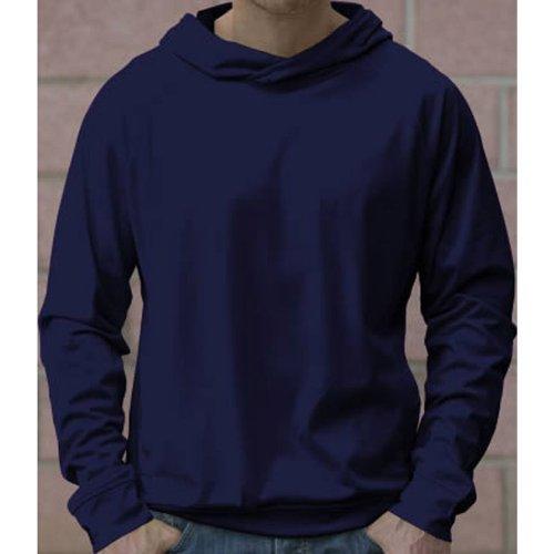 Just Cool Mens Cool Raglan Hooded Sweatshirt