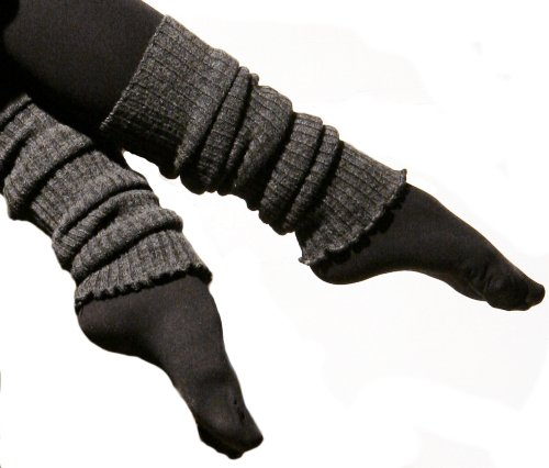 Oatmeal 16 Inch Leg Warmers by KD dance, Made In New York City, Shipped Via Amazon at Amazon.com