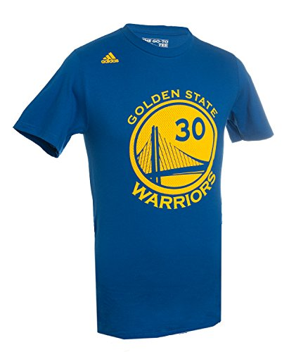 Stephen Curry 30 Golden State Warriors High Definition Select Replica T Shirt by Adidas (S=36) (Steph Curry Merchandise compare prices)