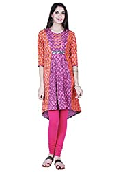Aana Aana Dobby Anchor Kurta-Small