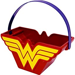 Wonder Woman Halloween Candy Pail