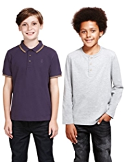 2 Pack Cotton Rich Assorted T-Shirts