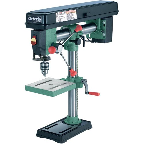 Grizzly-G7945-5-Speed-Bench-Top-Radial-Drill-Press
