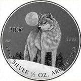 Silver Wolf Canada 2006 Coin.