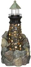 Stone Lighthouse Fountain